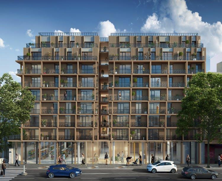 Programme immobilier 7 rue de Tolbiac à Paris 13