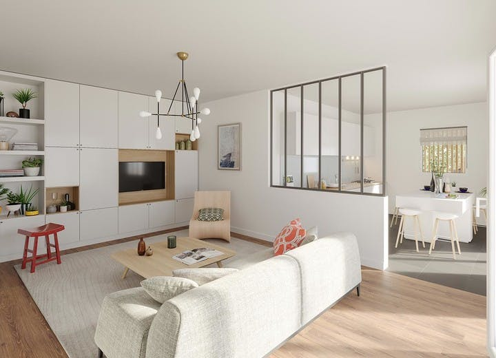 Appartements du programme immobilier neuf 7 rue de Tolbiac à Paris 13