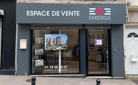 Espace de vente Emerige à Palaiseau