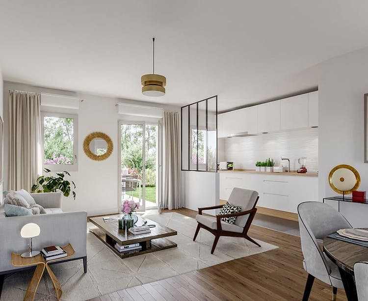 Avenue Lecomte à Villiers-sur-Marne : appartement