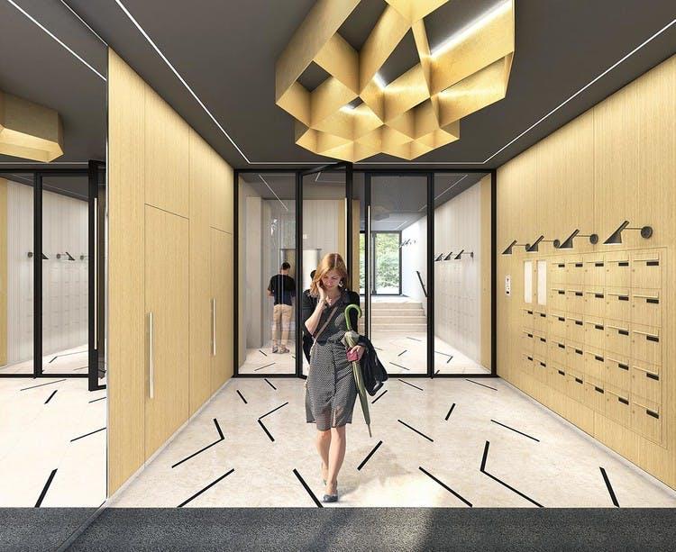 Programme immobilier Rue Agrippa d'Aubigné à Paris 4 : hall