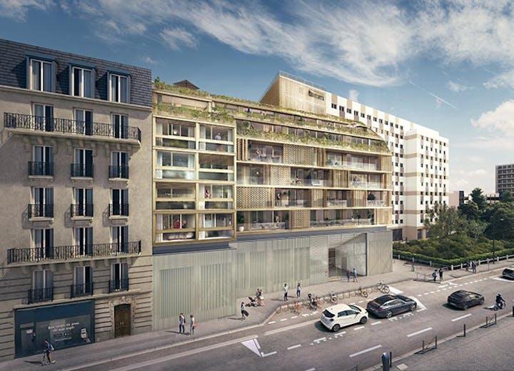 """Le programme immobilier neuf """"Ateliers Vaugirard - chapitre 1"""" à Paris 15"""