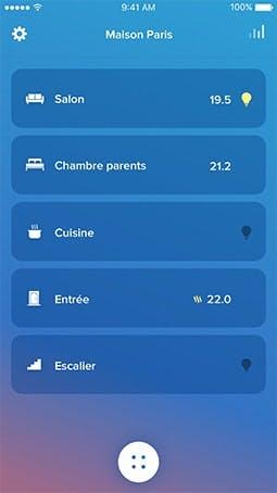 Domotique et logement connecté © Legrand/Netatmo