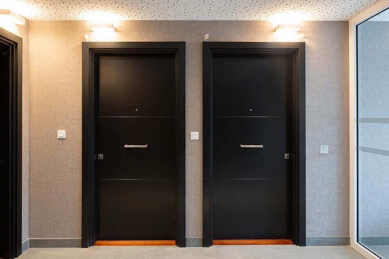 Variations à Vitry-sur-Seine : livraison de l'immeuble Quartz (palier)