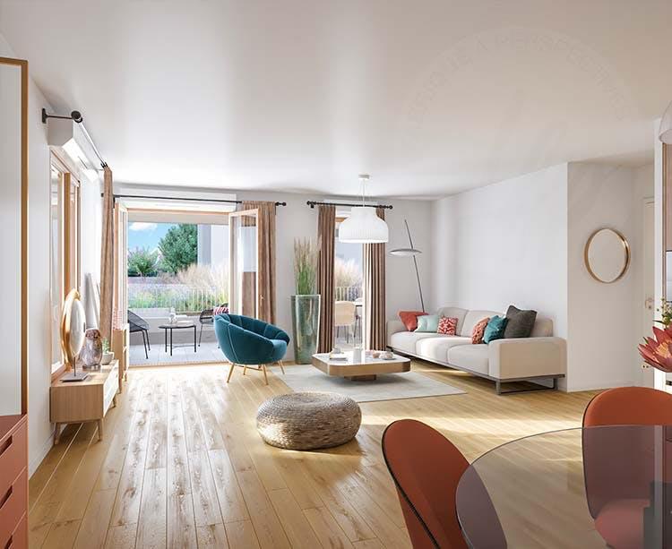 Appartement du programme immobier neuf Rue Vladimir Kramnik à Asnières-sur-Seine