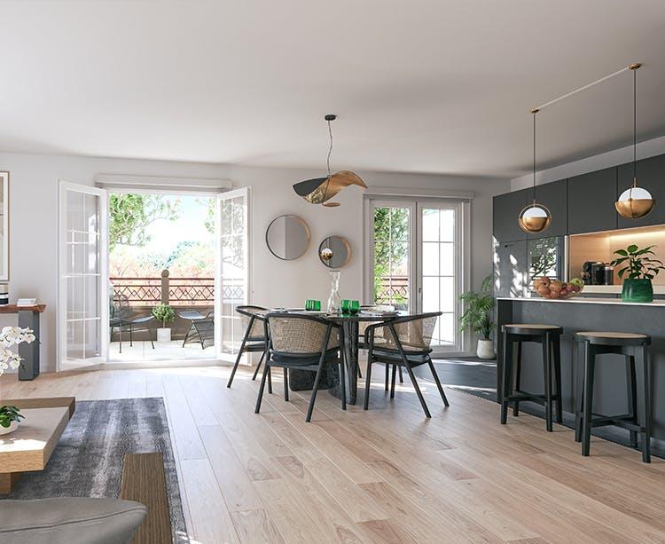 Salon du programme immobilier neuf Quartier de la Roseraie à L'Haÿ-les-Roses