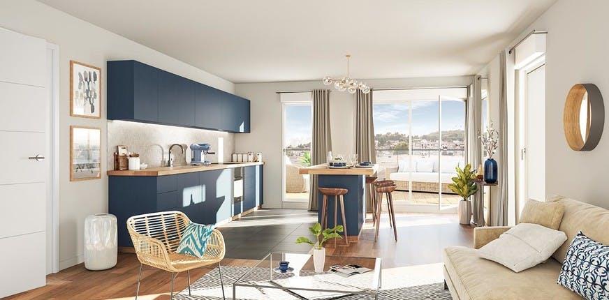 Appartement neuf du programme immobilier Carré de l'Arsenal à Rueil-Malmaison