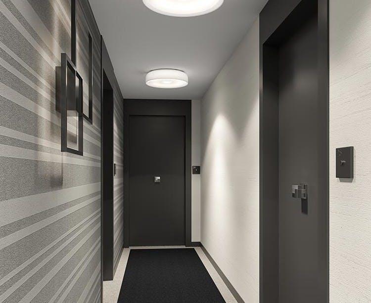 Palier d'étage du programme immobilier neuf Place du Garde à Clamart