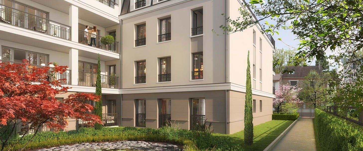 31 Rue Forest à Suresnes : cœur d'îlot