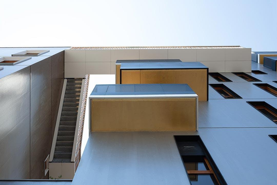 Façade du programme immobilier neuf Les Allées Maria Casarès à Gennevilliers