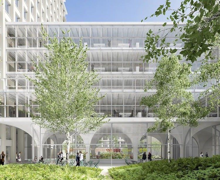 Programme immobilier Rue Agrippa d'Aubigné à Paris 4 : crèche