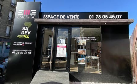 Espace de vente Emerige à Bagneux