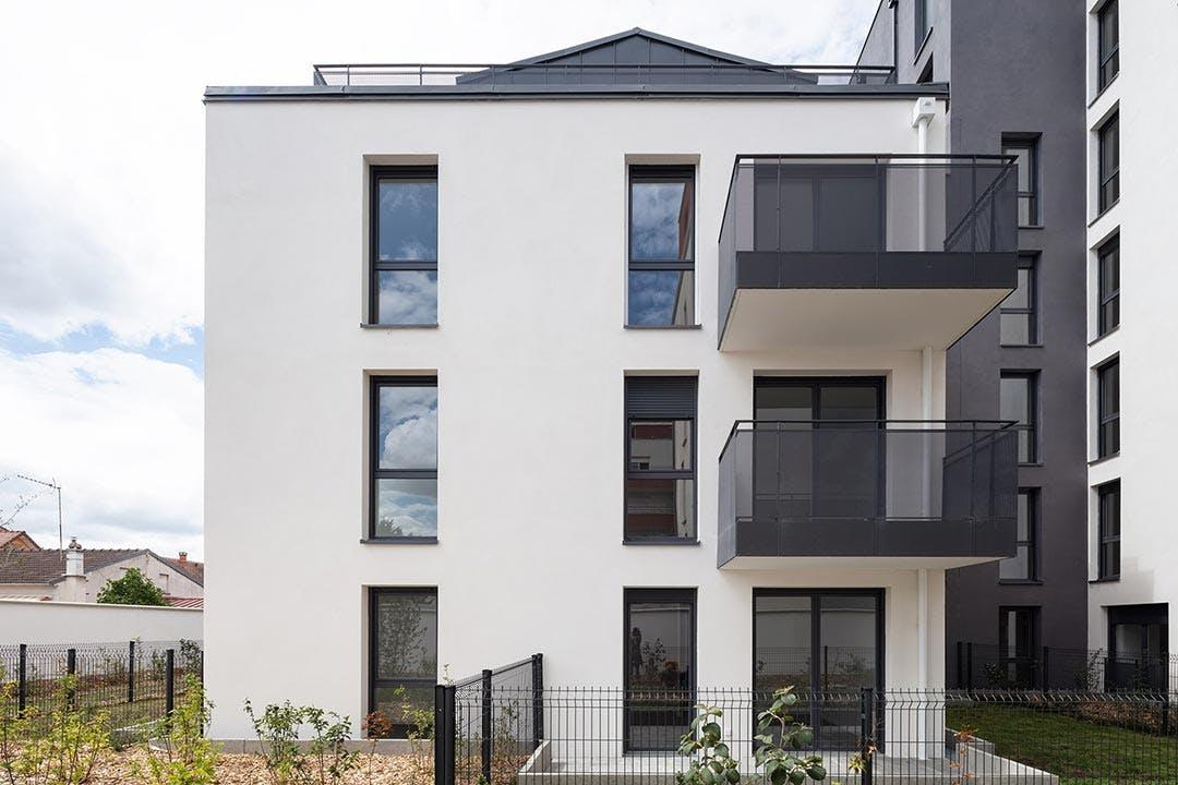 Résidence d'appartements neufs 31-33 Avenue Gabriel Péri à Bezons