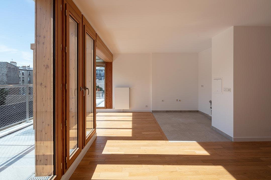 Appartement neuf du programme immobilier 9 Charrière à Paris 11