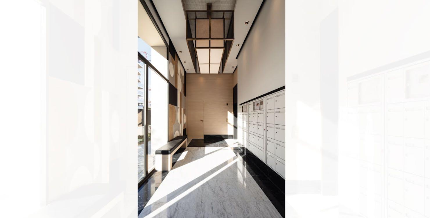 """Hall du programme immobilier neuf """"rue des Bons Raisins"""" à Rueil-Malmaison"""