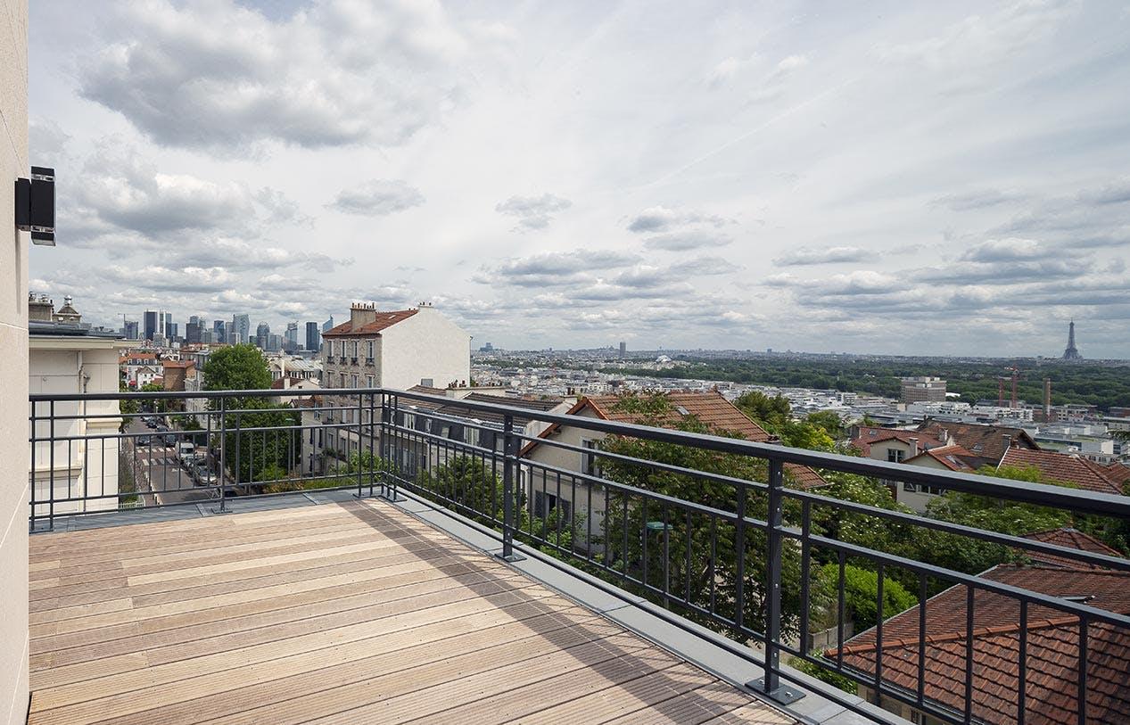 3 rue Jacques Decour à Suresnes : livraison terrasse