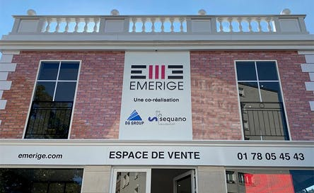 Espace de vente du promoteur immobilier Emerige