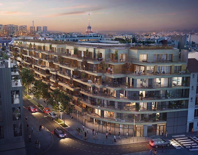 Le programme immobilier neuf à Paris 15 Ateliers Vaugirard - Chapitre 2