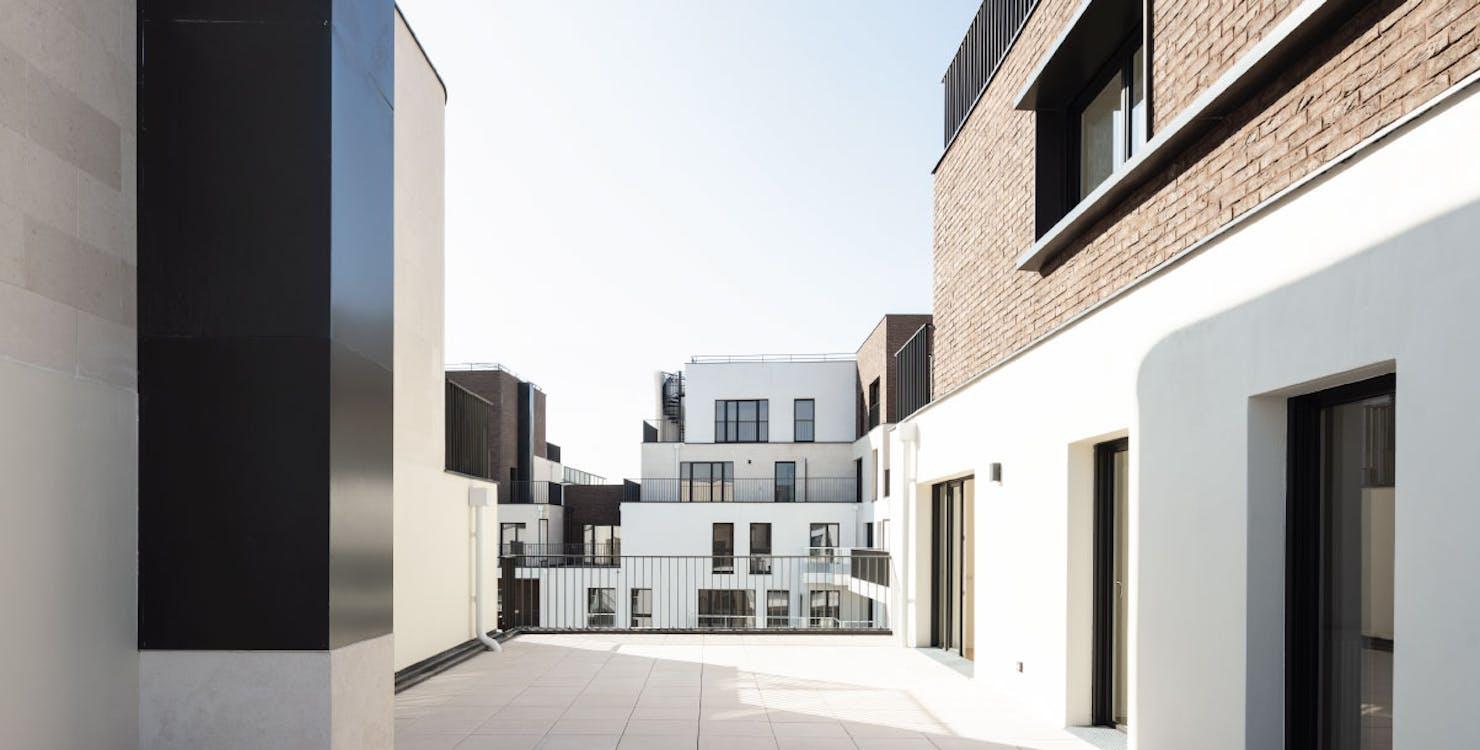 """Terrasse du programme immobilier neuf """"rue des Bons Raisins"""" à Rueil-Malmaison"""