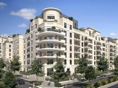 Le programme immobilier neuf Rue Pablo Picasso à Saint-Ouen