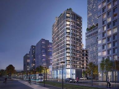 Le futur programme immobilier Le Berlier à Paris 13