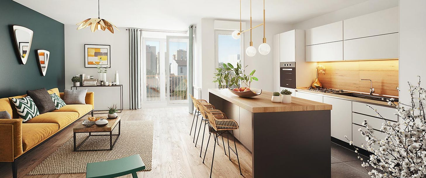 Appartement neuf du programme immobilier Rue Gustave Courbet à Bagneux