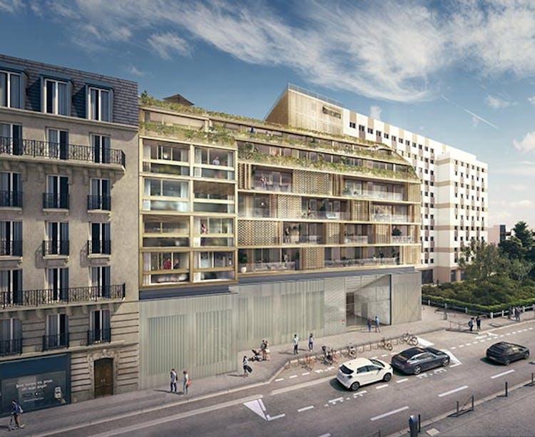 Le programme immobilier neuf Ateliers Vaugirard chapitre 1 à Paris 15