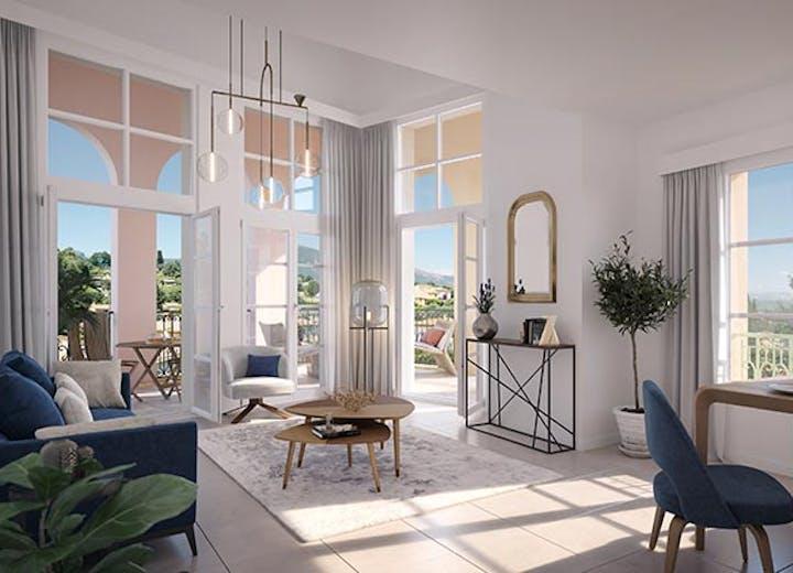 """Appartement duplex du programme immobilier neuf au Rouret """"Chemin des Comtes de Provence"""""""