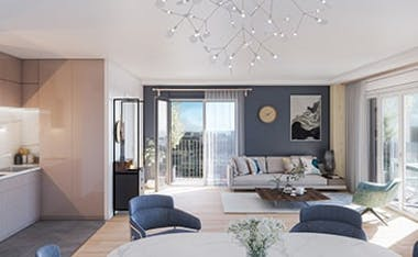 Appartement neuf à Paris 13, au sein du programme immobilier neuf Le Berlier