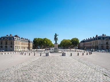 Place d'armes à Versailles