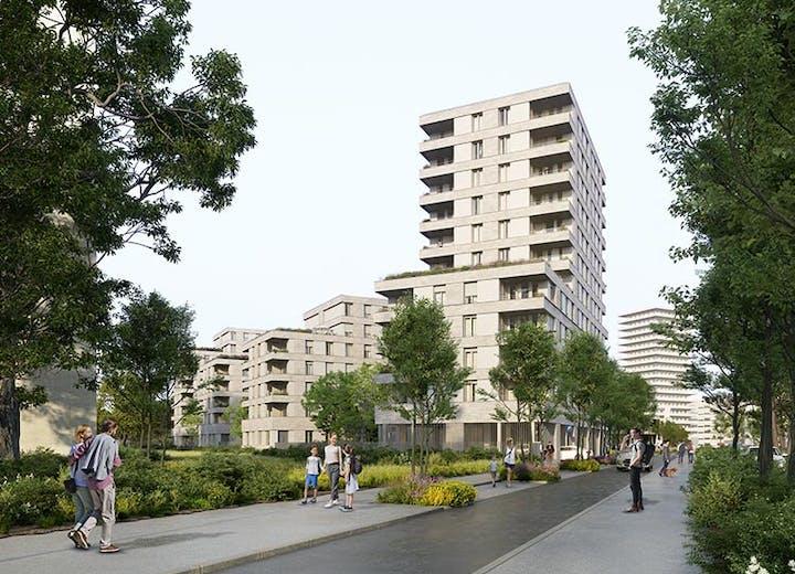 "Le programme immobilier neuf à Gennevilliers ""Rue Claude Robert"""