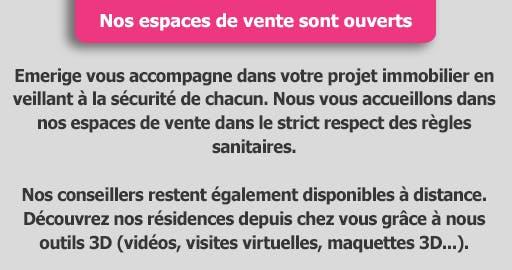 Covid : Nos espaces de vente ouverts dans le respect des règles sanitaires