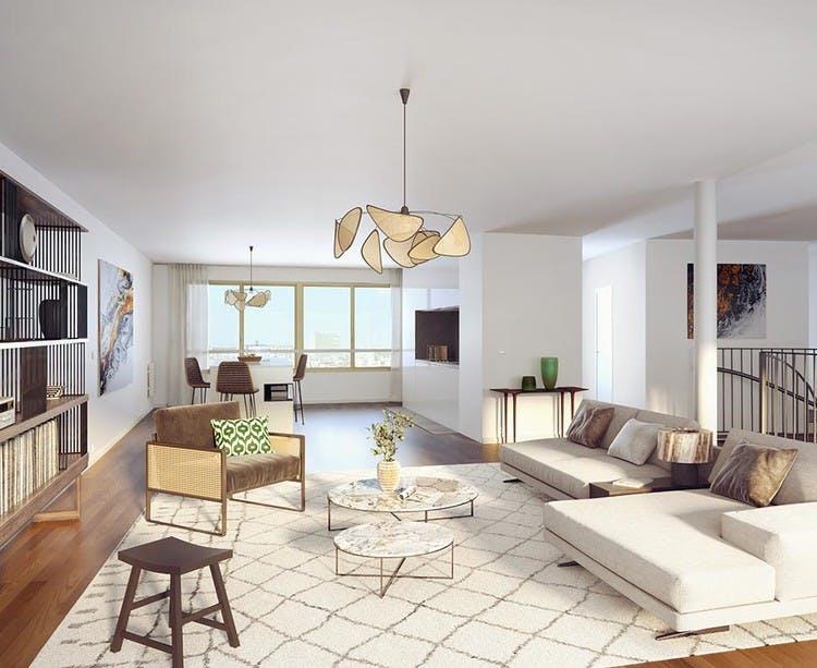 Appartement neuf du programme immobilier neuf Ateliers Vaugirard chapitre 1 à Paris 15