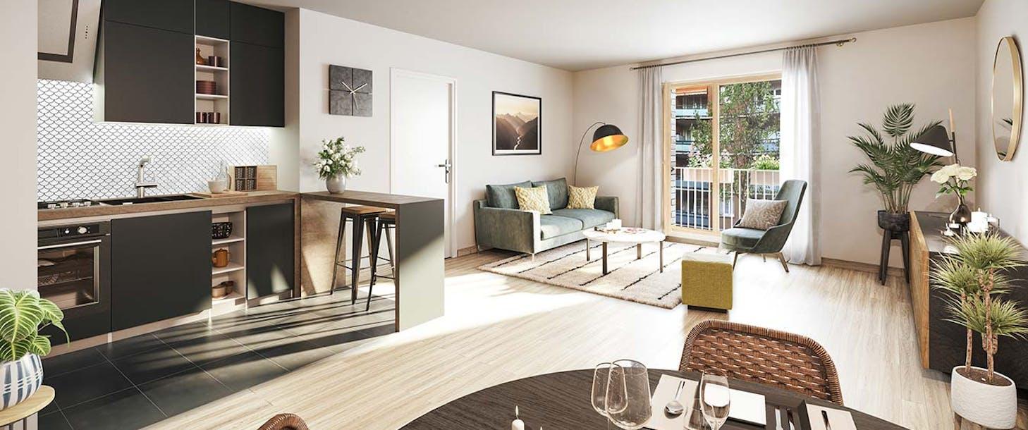 Appartement du programme immobilier neuf Rue Petit à Paris 19