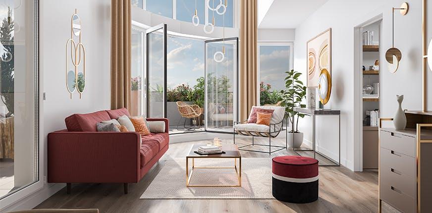 Appartement neuf du programme immobilier Paul Hochart à Hay-Les-Roses
