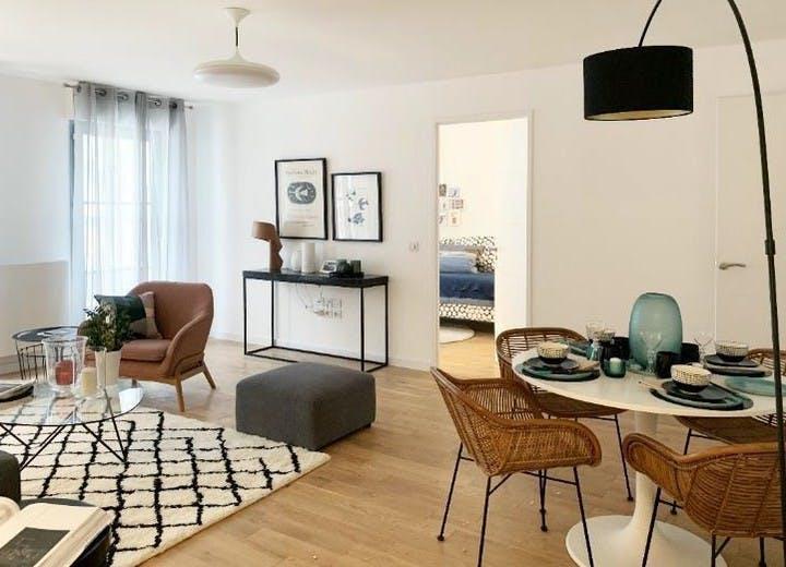 Appartement témoin du programme immobilier neuf Allée de Meudon à Clamart