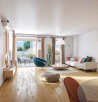 """Appartement du programme immobilier neuf """"Rue Vladimir Kramnik"""" à Asnières-sur-Seine"""