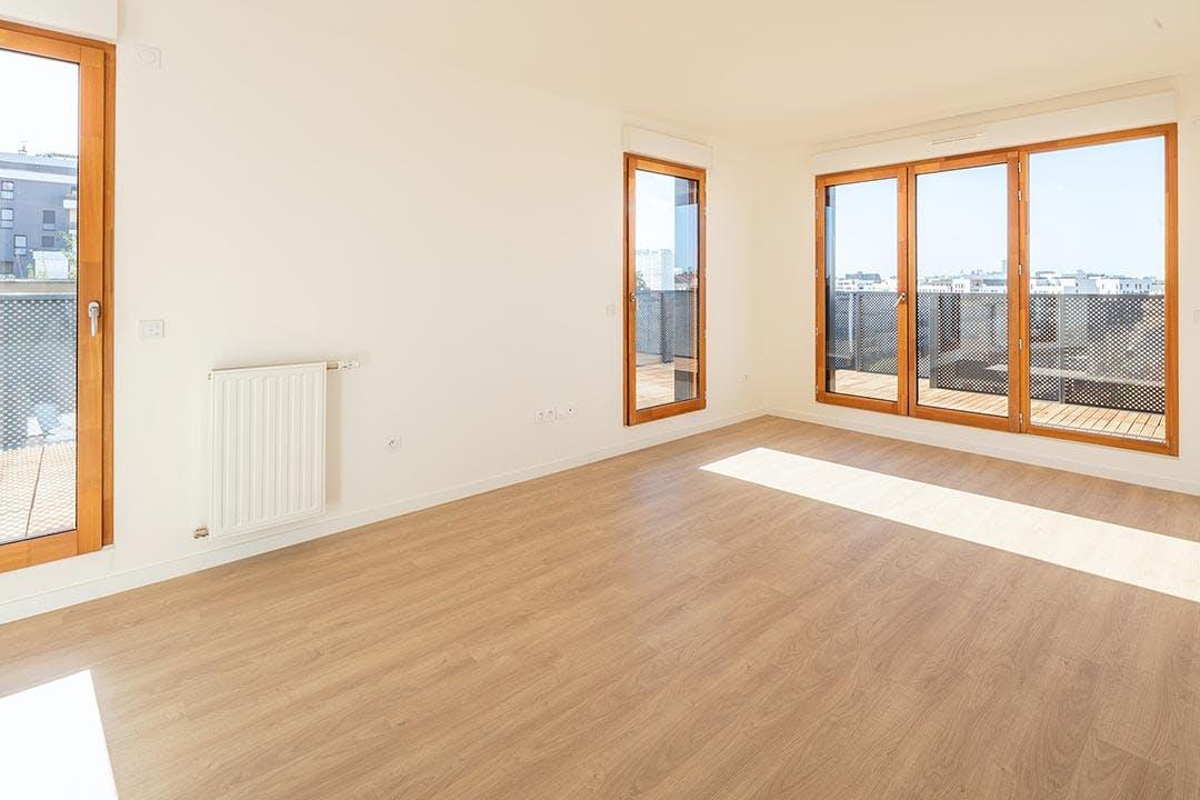 Appartement neuf du programme immobilier Les Allées Maria Casarès à Gennevilliers