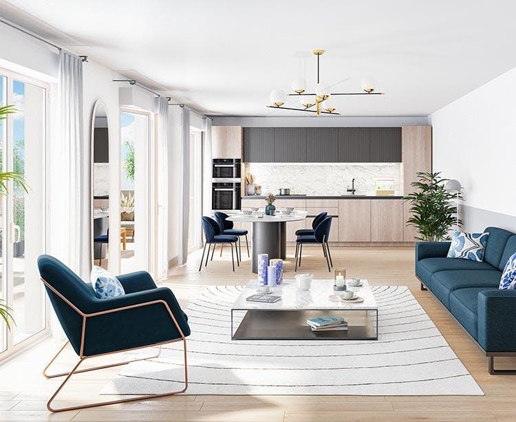 Appartement neuf du programme immobilier 18 Avenue Edouard Herriot au Plessis-Robinson