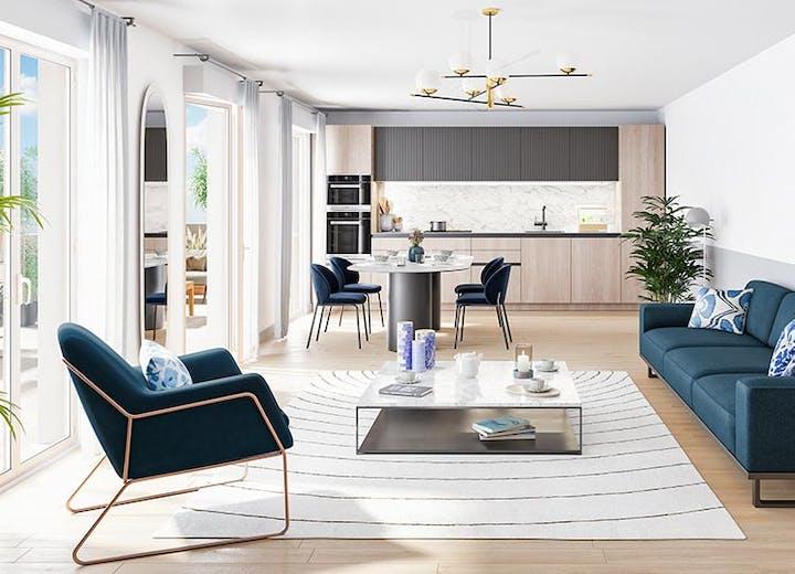 Appartement neuf du programme immobilier neuf 18 Avenue Edouard Herriot au Plessis-Robinson