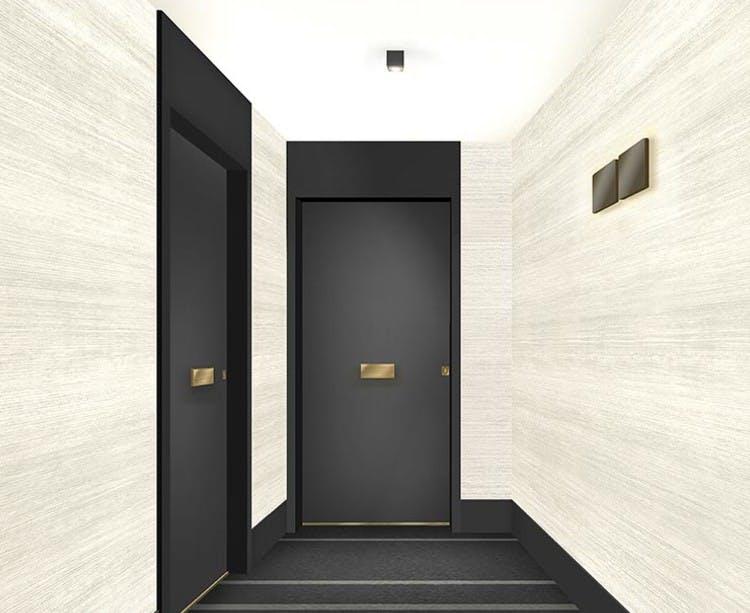 Palier d'étage du programme immobilier neuf 6 Rue Paul Héroult à Rueil-Malmaison