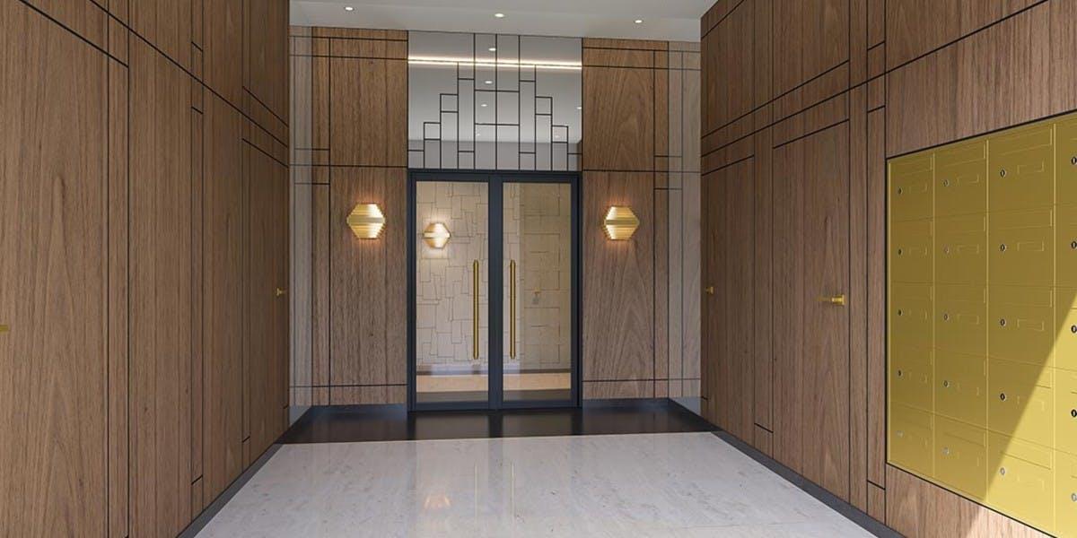 Hall d'entrée du programme immobilier neuf Rue Pablo Picasso à Saint-Ouen
