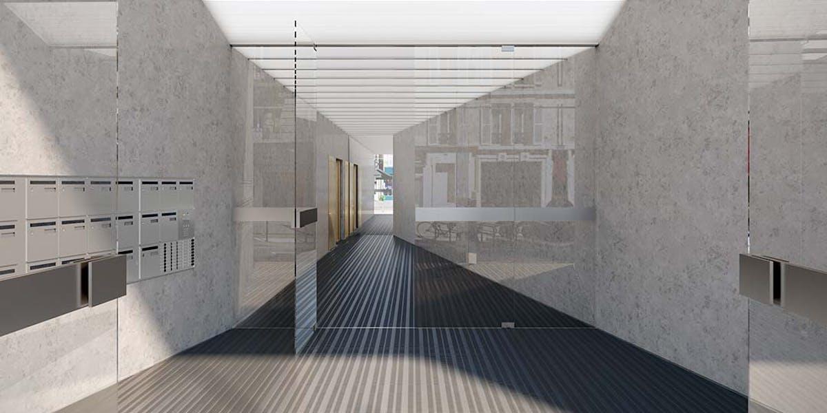 Hall d'entrée du programme immobilier neuf Ateliers Vaugirard chapitre 1 à Paris 15