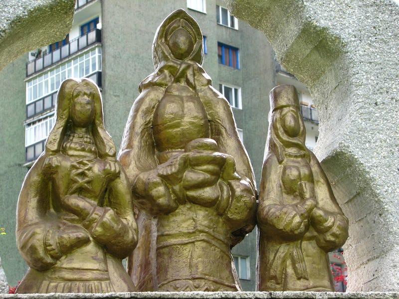 Lucrare monumentală Horea, Cloșsca si Crișan