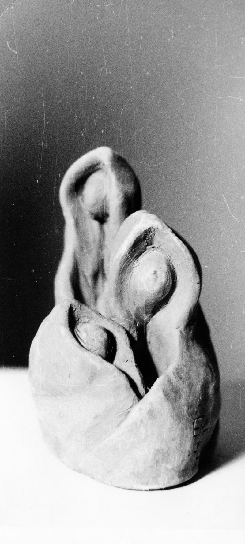 Lucrare din piatră sub forma unei familii