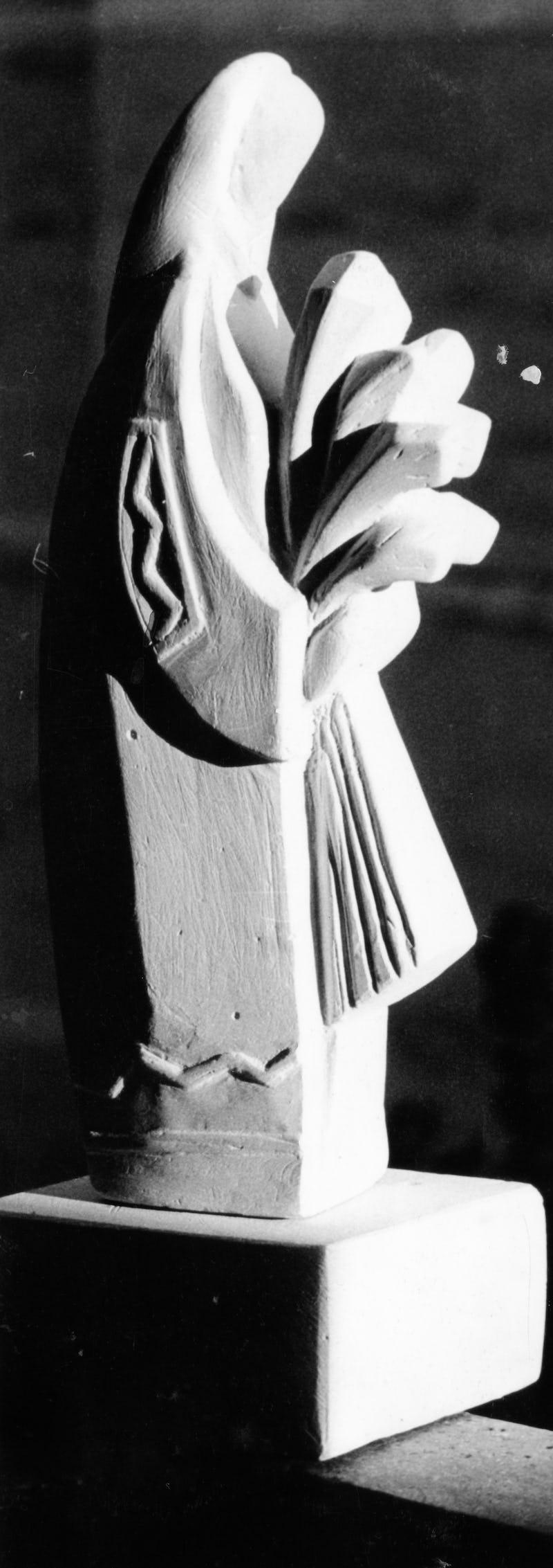 Lucrare din piatră sub forma unei tărănci