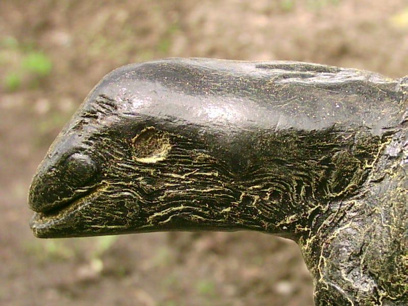 Rădăcină de copac sub forma unei reptile