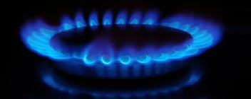 A picture of a gas stove