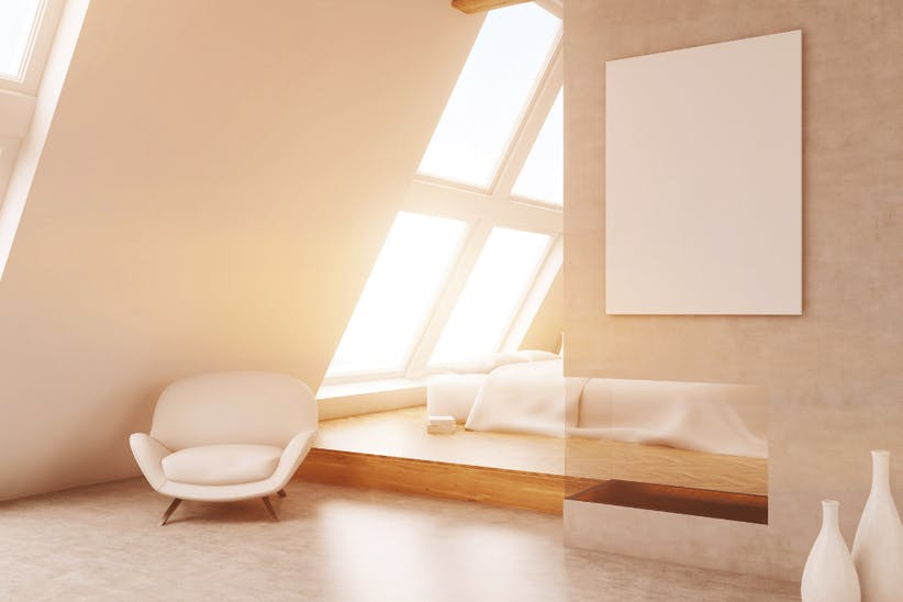 A picture of a bedroom