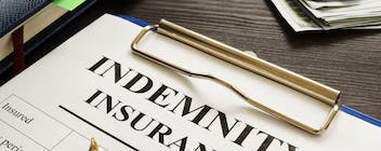A picture of indemnity insurance